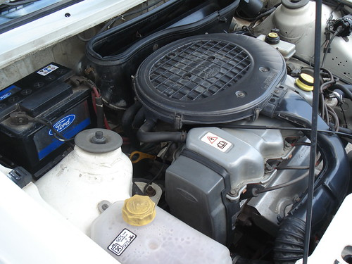 Ford Orion engine bay 2