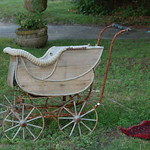 Cohasset antique shop: baby buggy