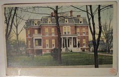 Vintage Postcard, Governor's Mansion, Annapolis, Md