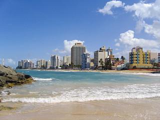 San Juan. Condado beach. Puerto Rico