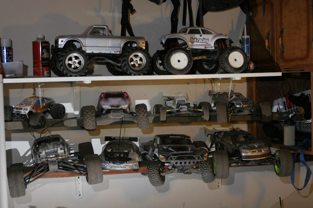 RC car collection
