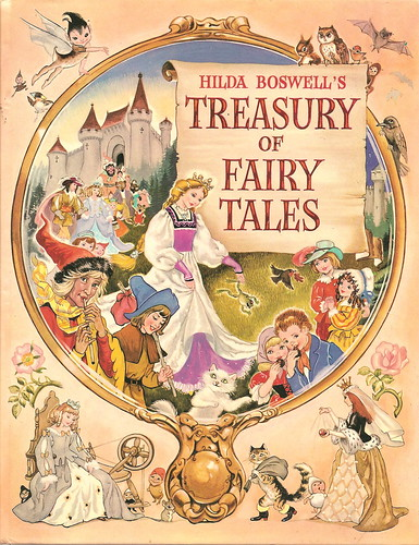 Hilda Boswell's Treasury of Fairy Tales - Cover