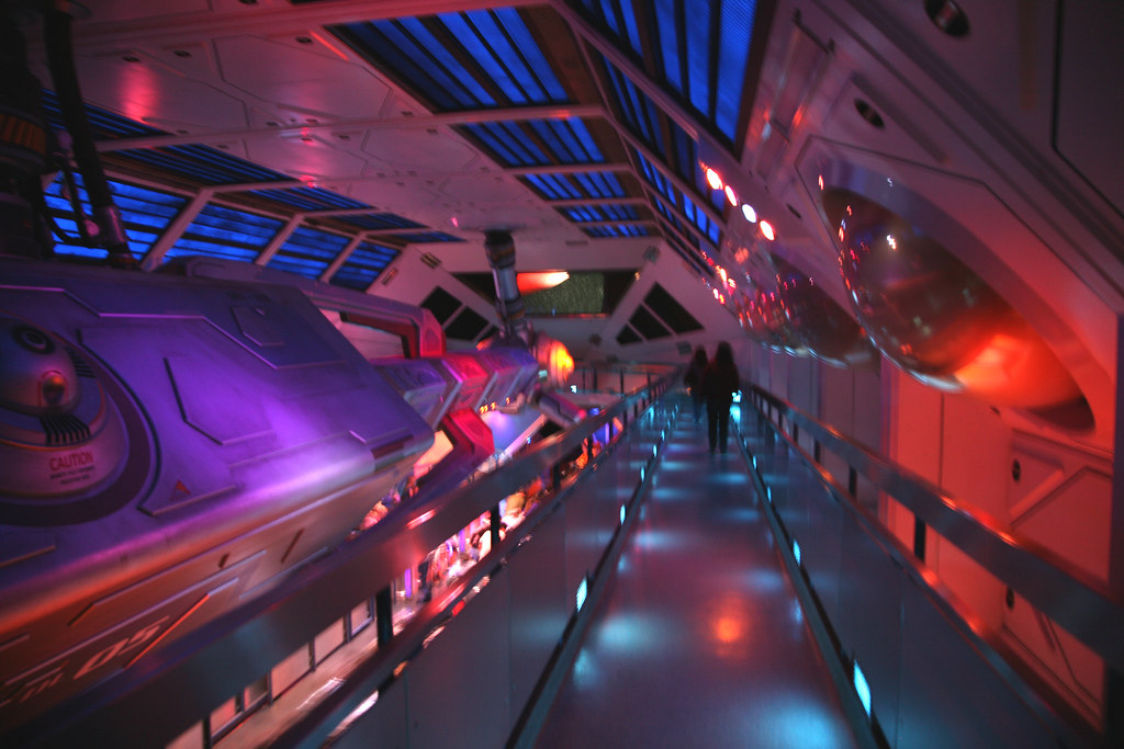 4/365 - Space Mountain, Disneyland