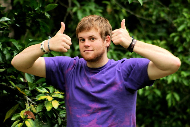 Photo:two thumbs up By:Aidan Jones