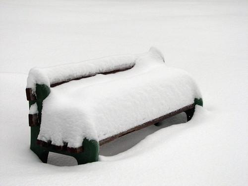 white snow woodland bench golf washington deep course wa drift lewisriver canons3 lewisrivergolfcourse