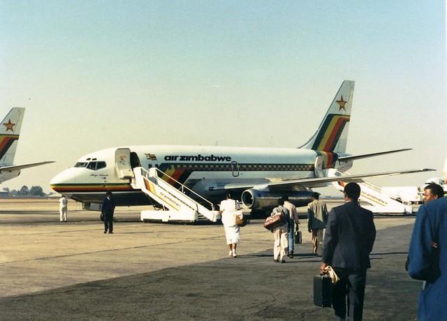 Air Zimbabwe 737