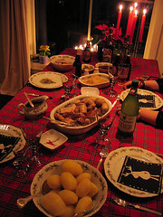 christmas dinner :: julemiddagen {365 :: 24.12}