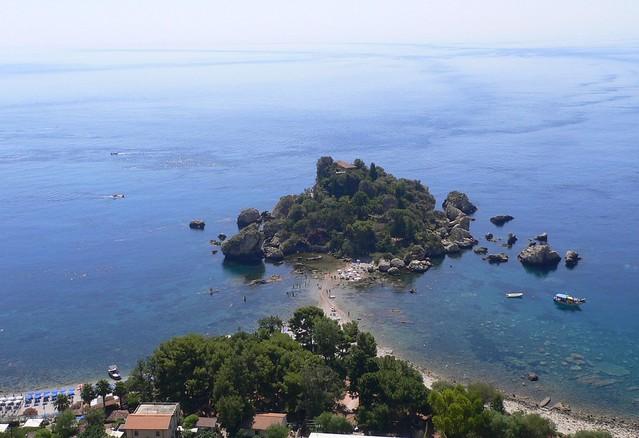 Taormina - L'Isolabella