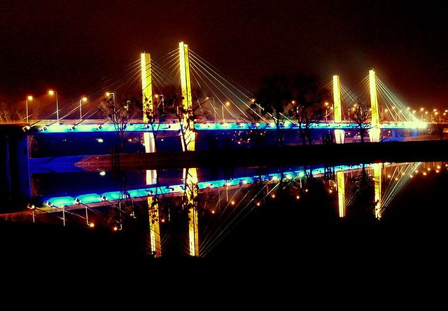 Millennium Bridge, Wroclaw - build in 2004