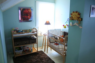 the baby alcove