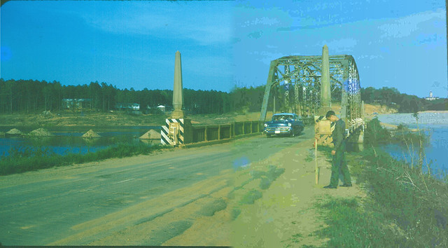 Seneca River Bridge, 1961 | The old Memorial Bridge over the ...