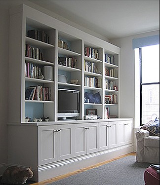 Built In Wall Unit Design And Construction By Jeremy
