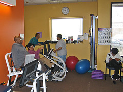 sport venue(0.0), room(1.0), physical fitness(1.0), gym(1.0), training(1.0),
