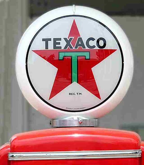 Texaco Gas Pump Crown