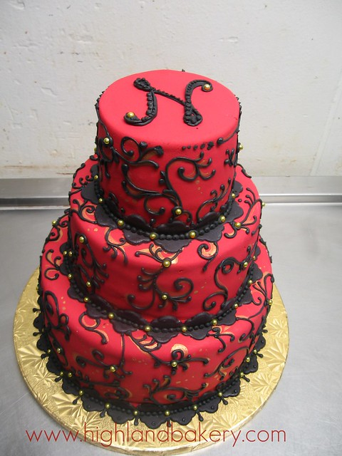 red and black wedding cakes and black wedding cake a photo on flickriver 19069