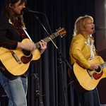 Thu, 11/03/2004 - 1:31pm - The Indigo Girls on stage at a WFUV Marquee member event