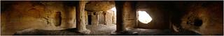 buddhist caves - 360° panorama, kateshwar kutch