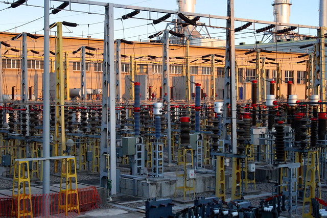 Central eléctrica de Endesa