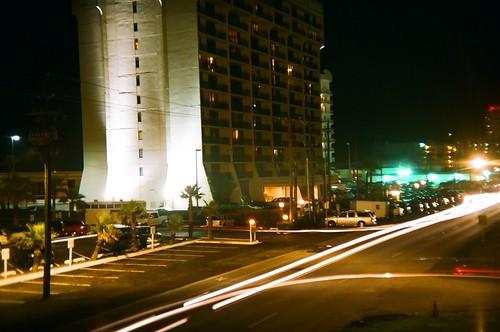 Gulf Blvd. at night.