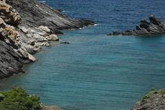 sea, ocean, bay, promontory, inlet, shore, terrain, cove, coast, rock,