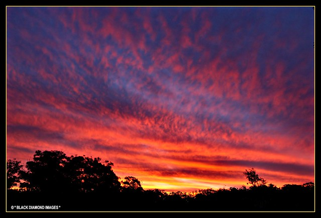 Woolgoolga Golf Course Sunset 16.7.2008