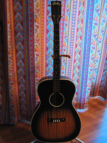 Vintage Stella Tenor Guitar by ardenthrills