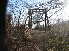 Old Lee Creek Bridge-East Portal
