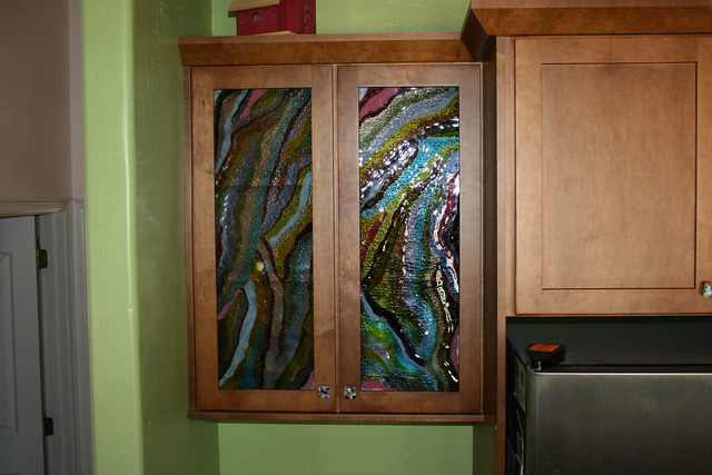 Glass inserts for kitchen cabinets cabinet glass
