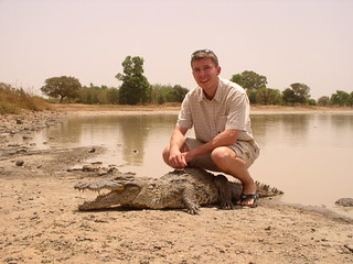 Take pictures with crocodiles at Sabou - Things to do in Ouagadougou