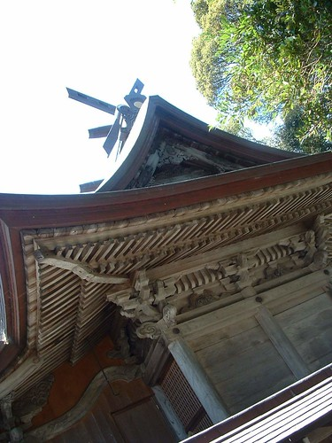 geotagged 神社 woodworking matsue 松江 gokokushrine 護国神社 japanesearchitecture shintoshrines geo:lat=35476643 geo:lon=133049594