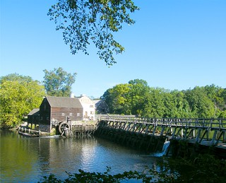 Scenic 18th Century Gristmill