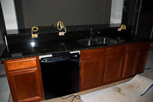 Dishwasher Granite Countertop : Granite Countertops Flickr - Photo Sharing!