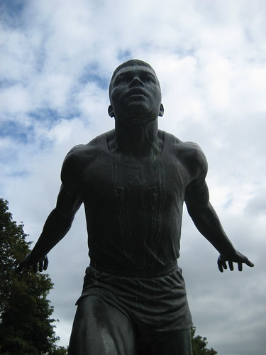 Olympic Winner Statue