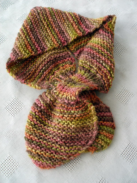 Knitting Pattern Bow Knot Scarf : Bow-Knot Scarf Flickr - Photo Sharing!