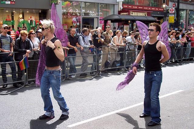 London gay pride week 2008