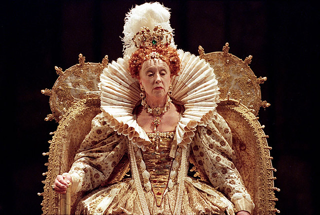 Josephine Barstow as Elizabeth in Gloriana