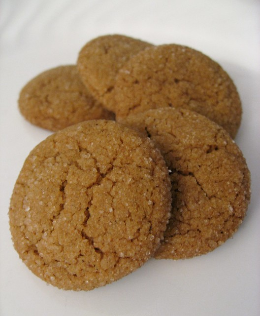 Chewy Molasses-Spice Cookies | I used a recipe from Martha S ...