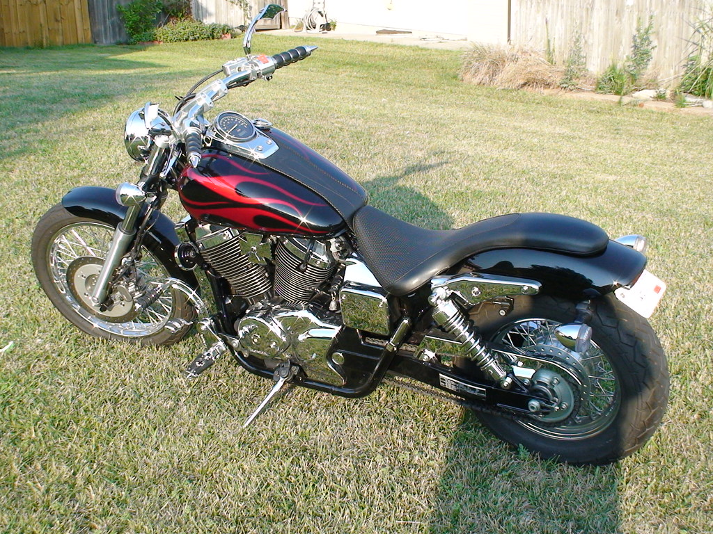 Elegant 2005 Honda Shadow Spirit 750 By Gunnarwhite