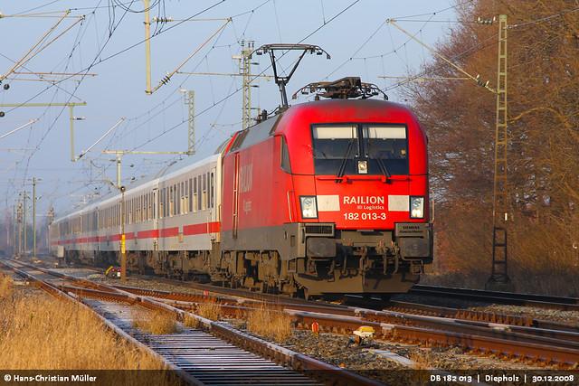DB 182 013 bei Diepholz #0813