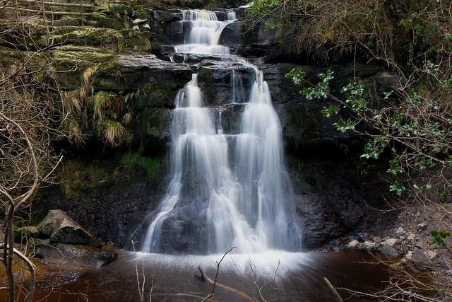 Glenbarrow Waterfall