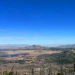 Lake Cuyamaca and Stonewall Peak from Cuyamaca Peak, Cuyamaca Rancho (Day 7)