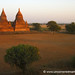 Sunset Over Stupas - Bagan, Burma