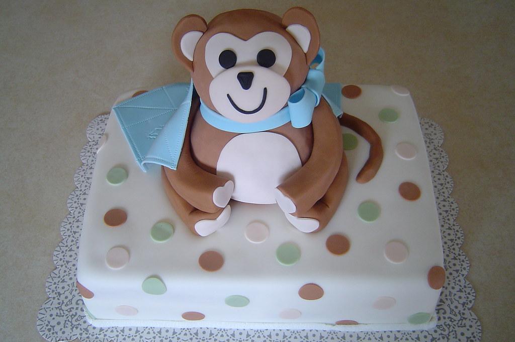 Monkey Baby Shower Cake Images : Baby Shower Monkey Cake Okay, I m hoping he looks like a ...