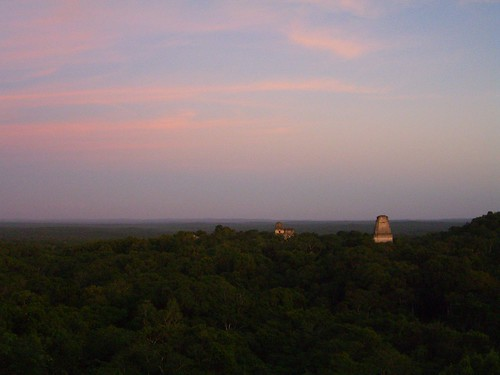 Tikal at Sunset