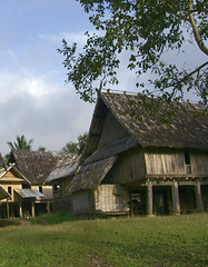 barn(0.0), farm(0.0), estate(0.0), place of worship(0.0), chapel(0.0), thatching(1.0), village(1.0), building(1.0), hut(1.0), farmhouse(1.0), tree(1.0), roof(1.0), shack(1.0), property(1.0), cottage(1.0), house(1.0), home(1.0), rural area(1.0),