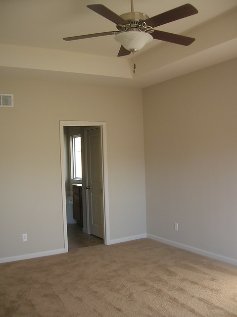 Master Bedroom With Coffered Ceiling Fan Flickr Photo Sharing
