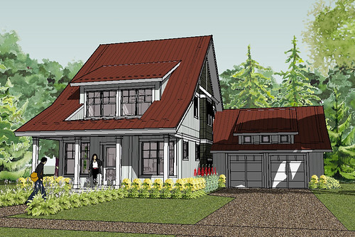 Cottage House Decorating And Floorplans Unique House Plans