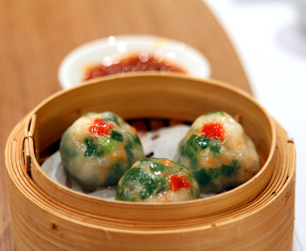 Ultimate Upper Thomson Food Guide: peach garden vegetable dumpling