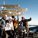 Our Whole Group at Uhuru Peak - Mt. Kilimanjaro, Tanzania