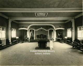 Masonic temple interior